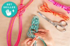 Get Skilled: Decorative Knot Techniques + Cool Jewels to Make! by Kollabora | Blog post | Kollabora