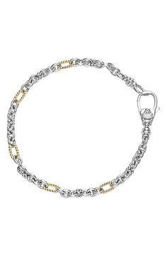 LAGOS 'Link' Mixed Link Two-Tone Bracelet