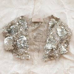 tutu du monde silver pailette shrug