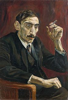 Portrait of an Oriental Journalist, Rudolf Schlichter