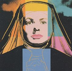Andy Warhol, Ingrid Bergman - The Nun (FS.II.314), 1983  Silkscreen on Lenox Museum Board, 38 x 38 in (96.5 x 96.5 cm)  Signed and numbered in pencil lower right. Edition of 250