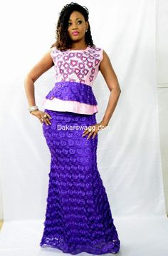 Tendance Tabaski (8) African Dresses For Women, African Print Fashion, Tribal Fashion, African Women, African Outfits, African Print Clothing, African Print Dresses, African Prints, African Lace