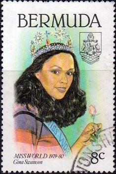 Bermuda 1980 Miss World Set Fine Mint SG 421/4 Scott: 397/400 Other Bermuda Stamps HERE