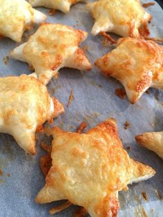 Puff pastry + cookie cutter + shredded cheese. It's that easy. Get the recipe here.