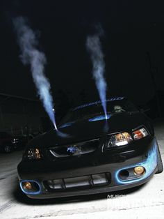 2004 Ford Mustang SVT Cobra - Intimidating Terminator: Craig Smith's Fiery '04 SVT Cobra gives poweradders a whole new meaning.