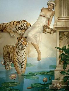 Indian Summer by Michael Parkes