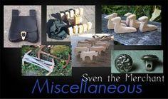Sven the Merchant - Miscellaneous items https://sites.google.com/site/sventhemerchant/Home/miscellaneous