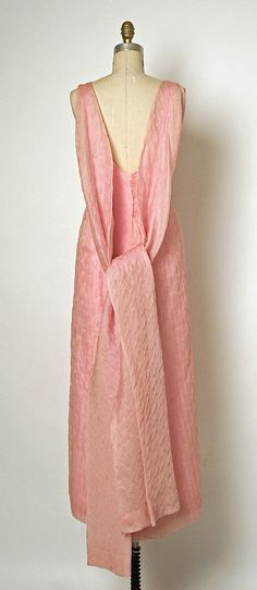 Balenciaga Silk Evening Dress, 1960's