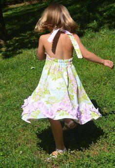 Madelyn Halter Dress PDF Pattern by Handmaiden's Cottage
