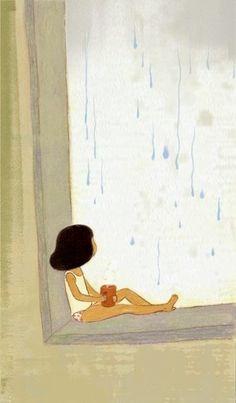 Pinzellades al món: pluja  Eun Young Choi