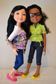 BFC, Ink, (Best Friends Club) dolls Yuko and Calista   Flickr - Photo Sharing!