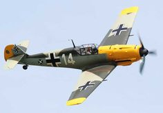 Messerschmitt BF109E...Another airplane I'd love to try out. Killed a lot of pilots on the ground though.