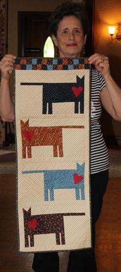 what a great cat motif!