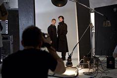 Sherlock BTS by Ian Derry