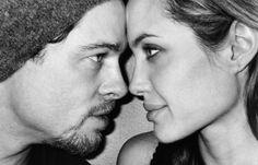 Brad & Angie by Mario Testino <3 #MarioTestino