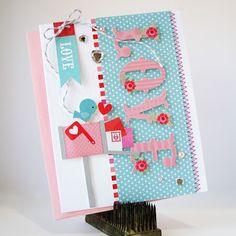 Doodlebug Lovebirds by Kathy Martin