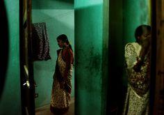 Alex Majoli INDIA. Madras. Chennai. Inside a brothel in KKNAGAR area. 2003.