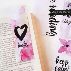 **► Dies ist eine digitale Datei (PDF)! Dies ist _kein_ gedrucktes Produkt. Deko (Buch etc.) wird NICHT mitverkauft.◄** Schöne Lesezeichen zum **Selbstausdrucken**! **►DU ERHÄLTST _(digitale...