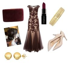 """Burgundy"" by mandy-martin-1 on Polyvore featuring Phase Eight, Kayu, Liz Claiborne, Smashbox, Sevil Designs, women's clothing, women's fashion, women, female and woman"