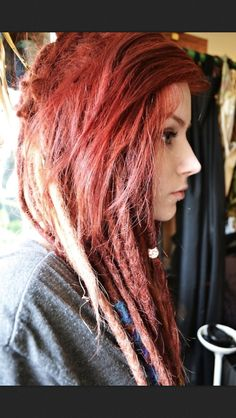 This picture reminds me of my friend Jena, mostly bc that chic looks like her, and because of her dreads that we started.