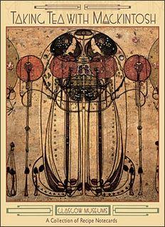 Scottish tea room art decor by Charles and Margaret Mackintosh.  Notecards at Pomegranate.com.