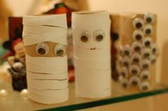 Toilet Paper Roll Halloween Craft