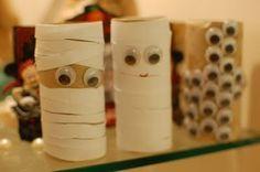 Toilet Paper Roll Halloween Craft
