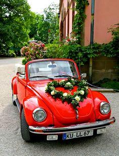 Red Beetle  Valentine's Vehicles  www.LindsayVolkswagen.com #Volkswagen #LoveItAtLindsay #HappyValentinesDay