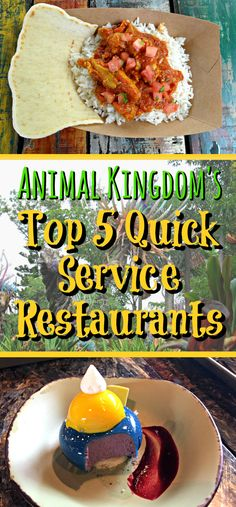 Check out my Top 5 Quick Service Restaurants in Disney's Animal Kingdom, Walt Disney World. This post features the brand new Satu'li Canteen, the very tasty Harambe Market and the asian themed Yak and Yeti Local Food Cafe.