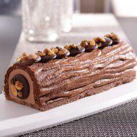 bûche au chocolat inratable - Marie Claire Maison