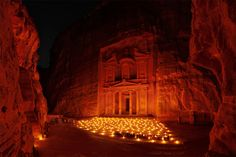 Petra (Jordan). 'They say that the forgotten city of Petra was concealed in the Jordanian mountains for thousands of years until its discovery in 1812 by Swiss explorer Johan Ludwig Burckhardt…and then again in 1989 by Steven Spielberg. Spielberg used Petra's dramatic red sand stone temples and tombs as a key location for his blockbuster Indiana Jones and the Last Crusade.' http://www.lonelyplanet.com/jordan/petra-and-the-south/petra-and-wadi-musa