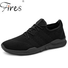 e377ff5fb81e6 Fires Men Casual Shoes Fashion Lightweight Lace-Up Man Sneakers Spring  Breathable Male Footwear Lace-up Outdoor Shoes Zapatillas