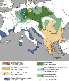 Spread of Early Neolithic Farming in Europe-Resize