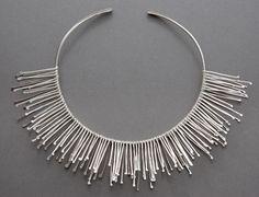 Latham & Neve's amazing silver Spangle neckpiece.