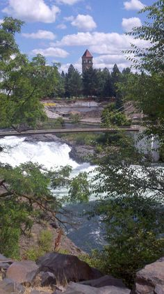 #Spokane Falls, Spokane, Washington - Photo by Ray Rigney  #Travel Washington USA multicityworldtravel.com We cover the world over 220 countries, 26 languages and 120 currencies Hotel and Flight deals.guarantee the best price