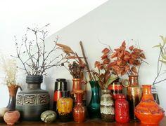 Some of my West German and Israel vintage/retro ceramics