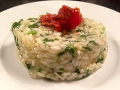 Spinazierisotto – Sport Foodblog