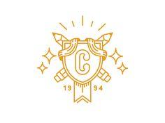 Gold crest or logo design                                                                                                                                                                                 More