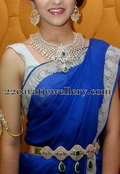 Simran Indian Diamond Wedding Sets | Jewellery Designs