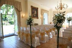 An intimate venue in Surrey