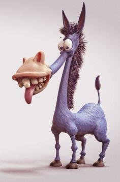 Donkey Blue on Behance