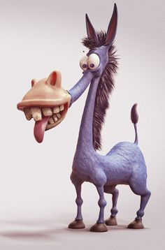Donkey Blue on Behance