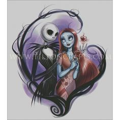 Jack and Sally - Tilton Crafts