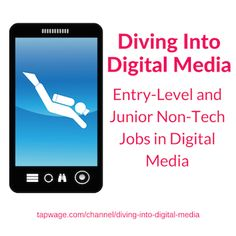 Want to work in digital media? Check out #entrylevel jobs @ places like #GoPro #Houzz & #Yahoo http://tapwage.com/channel/diving-into-digital-media…