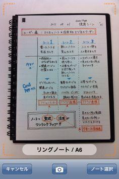 Backup a Kokuyo notebook to an iPhone
