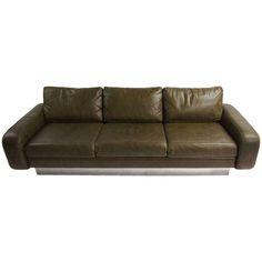 1stdibs.com   Vintage Sofa Designed by Milo Baughman in original condition circa1970 American