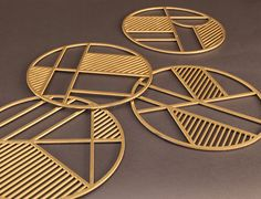 trivets4 Properties Of Materials, Architecture Design, Pure Products, Fashion Design, Material Properties, Architecture Layout, Architecture Illustrations, Architecture