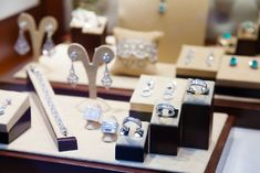 Jewelry giant accused of swapping real stones for fakes Luxury Jewelry, Custom Jewelry, Top Engagement Rings, Article Design, Engraved Jewelry, Wooden Earrings, Jewellery Display, Jewelry Stores, Wedding Bands