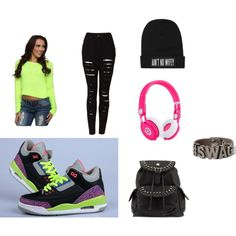 """""""Swagged Out"""" by kcsugarcookie on Polyvore"""