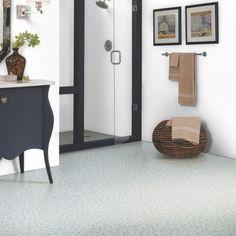 573N Stone Effect Anti Slip Vinyl Flooring- Vinyl Flooring UK Vinyl Flooring Uk, Stone Flooring, Kitchen Shades, Sounds Good, Flooring Options, Light Colors, Living Spaces, Room, Design